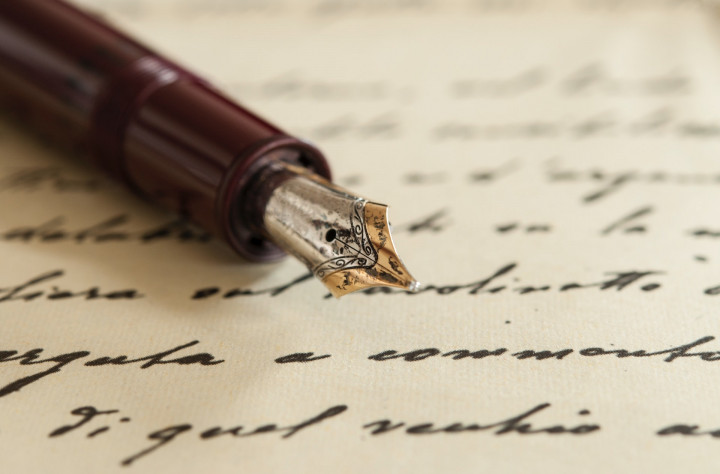 Scrivere con stilografica